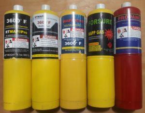 Мапп газ для горелок Bernzomatic